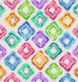 seamless pattern of colorful rhombus vector image vector image