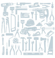 Tool background vector image vector image
