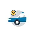 Auto car insurance concept diagnostic servises vector image vector image