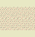 chaotically dots polka background seamless pattern vector image vector image