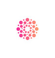 circles logo new modern isolated abstract vector image vector image