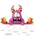 fanny cute roller skate characters vector image vector image