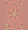 flourish pattern design vector image