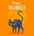 Halloween poster design template