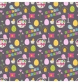 Happy Easter pattern vector image