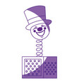 joke box icon vector image vector image