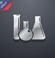 laboratory glass chemistry icon symbol 3d style