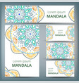 mandala pattern design template may be used for vector image