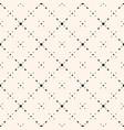 minimalist seamless pattern small diamond shapes vector image vector image