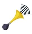 noise pollution design vector image