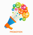 promotion design vector image