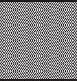 rhombus zigzag pattern vector image vector image