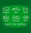 school2 vector image