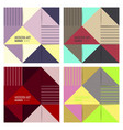 set of abstract background for design vector image vector image
