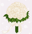 Wedding Flower Bouquet vector image