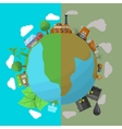 Environmental Pollution Poster vector image