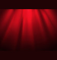 bright stage with spot illumination presentation vector image