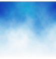 cloud blue vector image vector image