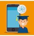 education app design vector image vector image