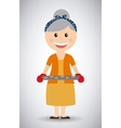 grandmother day vector image vector image