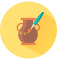 Icon for Hand Made pot vector image vector image