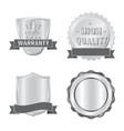 isolated object of emblem and badge sign vector image