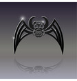 Sign of the bat Tattoo vector image
