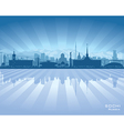 Sochi Russia skyline city silhouette vector image vector image