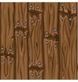 Wood texture old brown boards seamless background vector image vector image