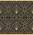 abstract art deco seamless pattern 22 vector image vector image