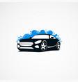 car wash logo designs modern concept icon element vector image vector image
