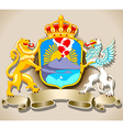 Coat of Arm of Naples vector image vector image