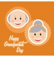 happy grandparents day vector image vector image