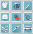 Healthcare and medical icon set vector image vector image