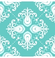 Vintage pattern with damask motifs vector image