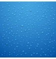 Water drops abstract background vector image vector image