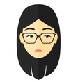 Young depressed woman vector image