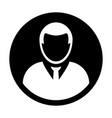avatar icon male user person profile symbol vector image vector image