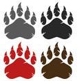 bear paw logo design collection - 2