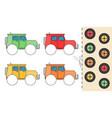 education paper game for preshool children vector image