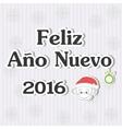 Feliz Ano nuevo vector image