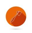 Reflex hammer icon Doctor medical equipment vector image vector image