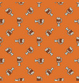 seamless pattern with hand drawn doodle cups of vector image vector image