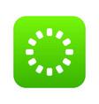sign download online icon digital green vector image vector image