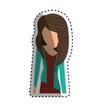 Young woman body complete vector image vector image