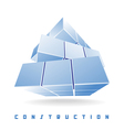 construction cube vector image