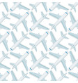 airplane seamless pattern background aircraft vector image