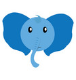 avatar of elephant vector image