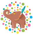Icon for Hand Made elephant vector image vector image