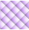 purple abstract seamless pixel pattern vector image vector image